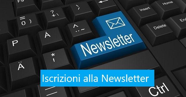 Iscrizioni alla newsletter - Scegli